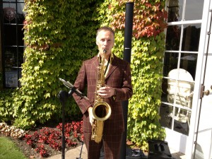 Pennycook Park wedding saxophone fabulous wedding